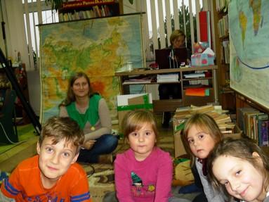 Edukacja globalna w bibliotece
